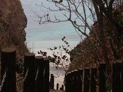 石次郎海岸。 プライベートビーチみたいだった。