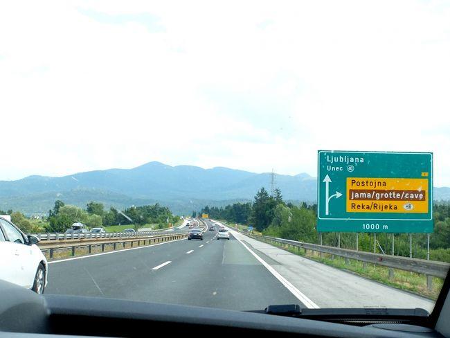 2016.8スロベニア・イタリア旅行43-Nova GoricaからH4,E61-A1をとおりLjubljanaへ向かう