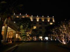 ソカアンコールホテルの夜景です。