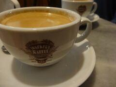そして知らなかったんですけど、ドイツはカフェ文化も盛んなんですね。 毎日美味しいコーヒーが飲めて幸せ! そしてここはフランクフルトの老舗のカフェ。なんと1914年からやっているお店です。