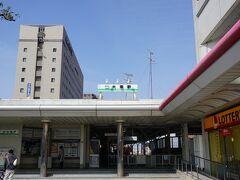 養老駅に戻ります。 こちらは養老鉄道大垣駅。
