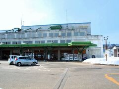 ほくほく線松代駅で休憩。ここは道の駅にもなっています。( http://www.tokamachishikankou.jp/matudai/cgi-bin/kaikan/index.cgi   )