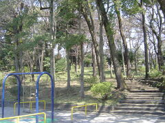 宝来公園まで来ました。