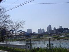 多摩川です。