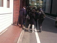 蒲田で有名なとんかつ屋に行きました  行列であきらめました。