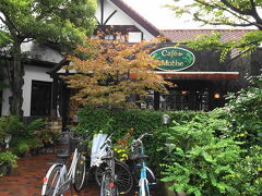9/1 姫路の朝食は「カフェドムッシュ」でモーニング。