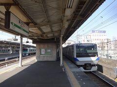 終点の我孫子駅で常磐線の普通電車に乗り換え。