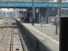 佐原駅に到着。