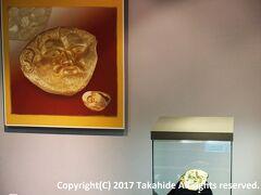 """イスクラ博物館(Исторически музей """"Искра"""")  1901年に設立されたブルガリアで最も古い博物館の一つ。写真はオドリュサイ王国(Одриско царство)の国王テレス一世(Τήρης)の黄金のマスクです。   イスクラ博物館:http://www.muzei-kazanlak.org/index.php?option=com_content&view=article&id=48&Itemid=1&lang=en オドリュサイ王国:https://en.wikipedia.org/wiki/Odrysian_kingdom テレス一世:https://en.wikipedia.org/wiki/Teres_I"""
