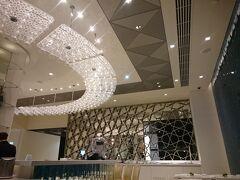 5泊6日、あっという間でした。ドバイのカタール航空ラウンジ。