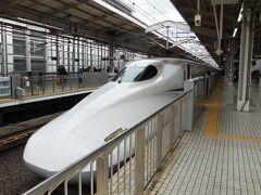 今回はなるべく現地の時間を多めに取りたいので、新幹線で京都まで行った。東京を9時半くらいに出て京都には12時前につく。