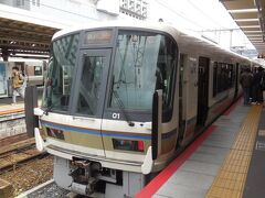京都駅から木津駅まで、第一ランナーは奈良線みやこ路快速に乗車。 春休みの休日で、旅行客が多く列車は混雑、場所がら、外国人もかなり目立った。まさに外客2000万時代。