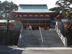 五社神社に立ち寄りました。私はこの神社の記憶がほとんどないのです。
