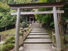 第71靡、金峯神社です。明日からの山行の無事をお祈りしました。