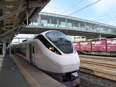 勝田駅でほぼほぼ乗客が下車してがらんとした感じで日立駅に到着。