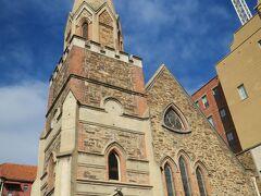 スコット教会です。 アデレード大の南にあります。
