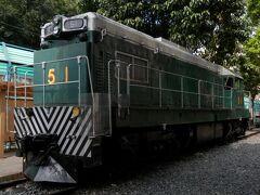 太和駅に戻り、徒歩で香港鉄路博物館へ。九廣鐵路初のディーゼル機関車である51号機関車。