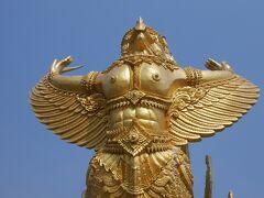 トゥン・シー・ムアン公園のロウソク彫刻。