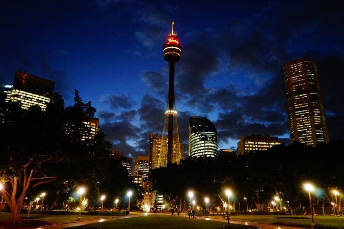 シドニー タワー アイ & スカイウォーク
