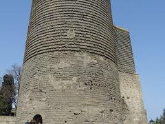 乙女の望楼。12世紀に建てられた、見張りの塔です。