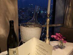 白ワインはボトルで、 2011 Domaine Georges Vernay Condrieu Terrasses de l'Empire, Rhone, France ドメーヌ・ジョルジュ・ヴェルネ コンドリュー テラス・ド・ロンピール (税サ別 16,000円)  代官山の「メゾン ポール・ボキューズ」で薦めてもらって、とても気に入った銘柄です。香りが引き立つからと、カラフェに入れ替えてくださいました。 http://4travel.jp/travelogue/11068419