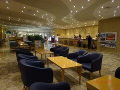 釧路プリンス・ホテルのロビー。