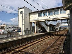 8時38分倉敷発、8時45分清音駅着。 ここからさらに井原鉄道というローカル線に乗り継ぎ。