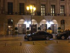 ☆ホテルリッツ☆ヴァンドーム広場内  ダイアナ妃が死ぬ直前まで滞在していたホテル。  高級感溢れる5つ星ホテルです。