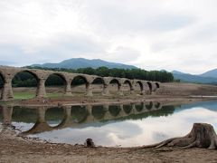 こんなに果てて行く姿が美しいと思ったことはない、タウシュベツ橋梁