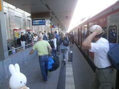 マンハイム中央駅に到着です。