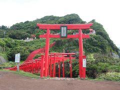 改めて、元乃隅稲成神社の鳥居をくぐって参拝します