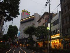 今夜のホテル「下関ステーションホテル」へ到着