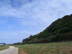 【北大東観光②】1日目・初日 「長幕」ながまく、この山が1200m続きます