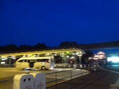 ランドのバス停からタクシー乗り場へ移動し、自宅へ。次回の旅は8月です。
