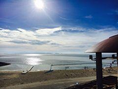 海が見たいなあと思い、豊崎の美らSUNビーチにやってきました。1時間は駐車場が無料なので、とりあえず、だらだら