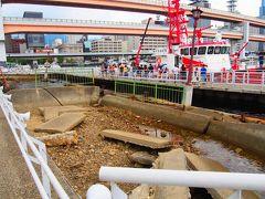 阪神淡路大震災で破壊されたメリケン波止場。 ここだけ時間が止まったているようですね。
