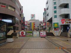 早朝の、松戸駅。