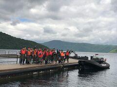 十和田湖のアドベンチャーボート スピード感あり楽しいです