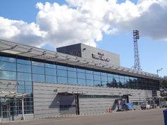 トゥルク空港到着です。