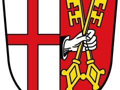 今日の予定はコッヘムのAlt-Cochem アルトコッヘムと元気があればReichsburg帝国城のFalknerei鷹狩りショーを見たい。 そして北上してAbtei Maria Laachマリア・ラーハ僧院を久しぶりに訪ねる。ラーハ湖周辺に起源を持つ伝説「ゲノフェーファ」がある。 シューマンが完成・上演できた唯一のオペラとして知られているそうである。  写真はWappen_Cochemコッヘムの紋章