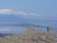 ●自然の力  潮位差が日本最大の有明海ならではの景色。