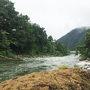 魚野川の河原へ