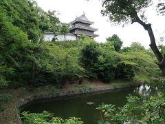 続いて、西尾城の本丸周辺、歴史公園へ! 本丸跡の三重櫓へ向かいます