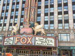 FOX Theater 財政破綻した様子が随所で伺えました。