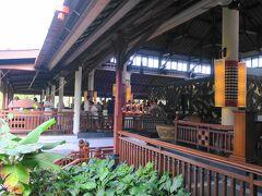 バリ島3日目。今日はビュッフェで朝食です。