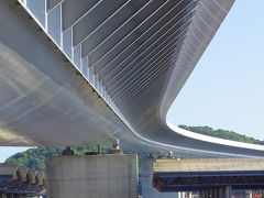 ●美しい橋  キレイな橋。レンゾ・ピアノの設計とは知らなかった。