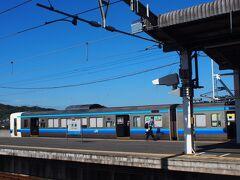 「児島駅」に到着しました!