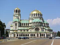 ブルガリア最大で最も美しいと言われるアレクサンダル・ネフスキー寺院