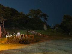 街灯が無く真っ暗な【稲村ケ崎】を通り過ぎます。