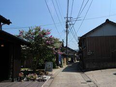 崎津教会周辺は小さい集落があって路地巡りが楽しそう♪ が、時間が無いのでさっさと次へ。